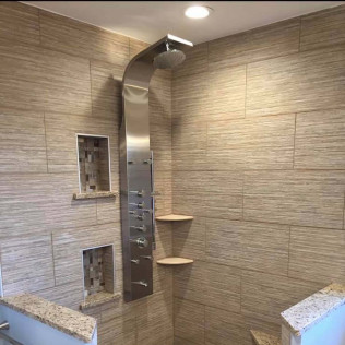 Bathroom remodel in Gloucester City and Cherry Hill, NJ